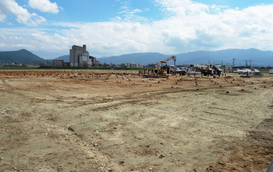某保育園新築工事の地盤補強